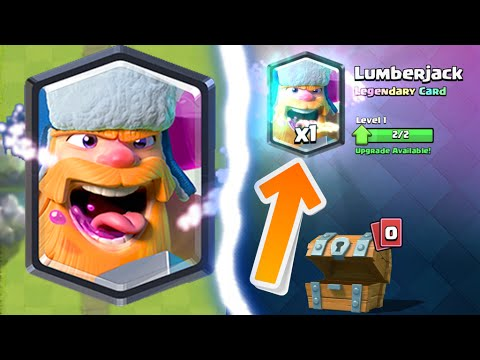 Clash Royale Free Lumberjack Luckiest Free Chest Ever