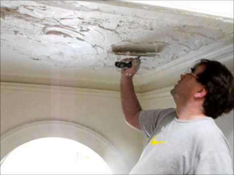 Plastering  Repairing Lath & Plaster Ceiling ~ Hawthorn Plaster Repairs
