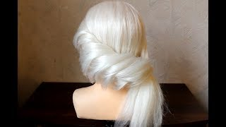 Hairstyle Ideal for prom, wedding, valentine