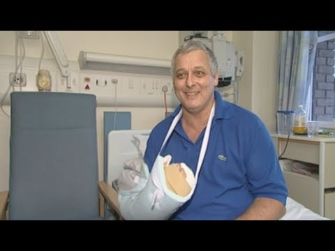 Mark Cahill: The UK's First Hand Transplant