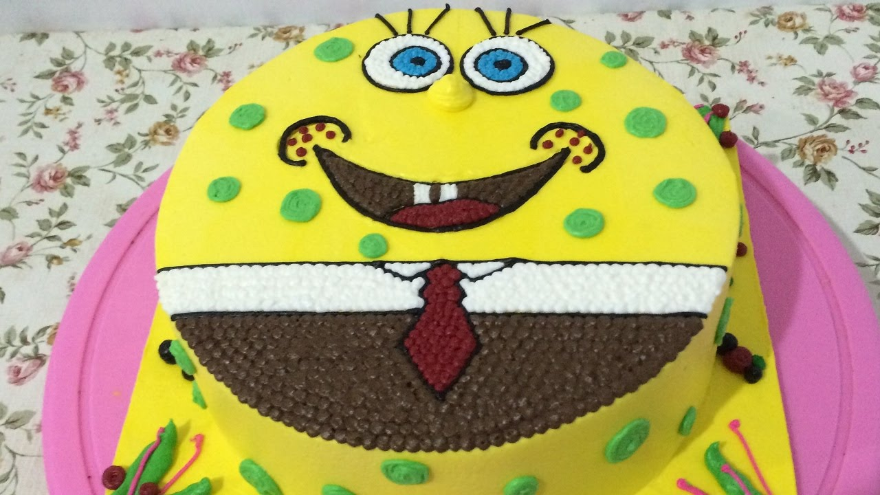 SpongeBob Cake Easy Unique How To Make