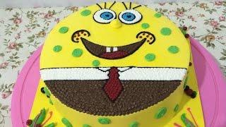 SpongeBob Cake Easy Unique How to Make