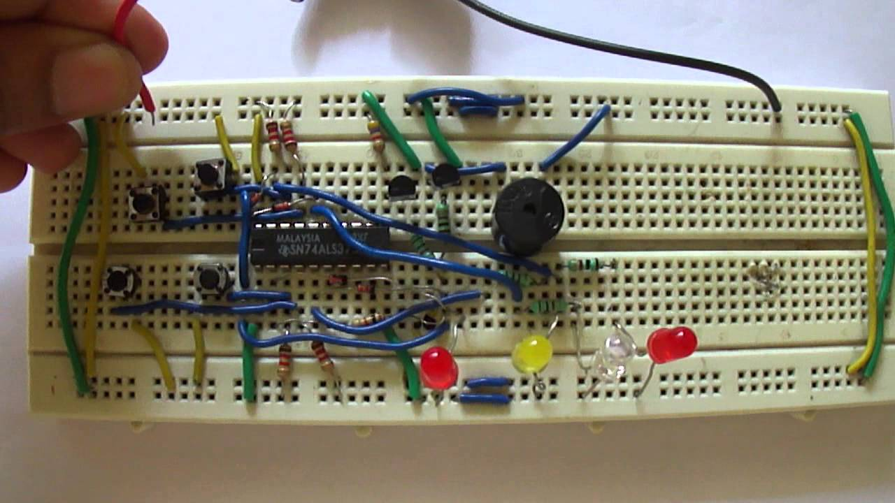 8 Player Quiz Buzzer Youtube Novel Circuit Diagram Project Alarms Security Related