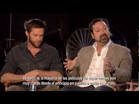 "Chat con Hugh Jackman y James Mangold - ""The Wolverine"""