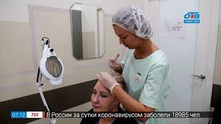 Решаем проблемы с волосами в сюжете У врача трихолога