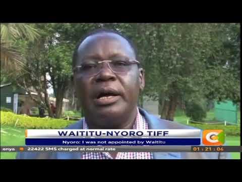 James Nyoro accuses Waititu of frustrating him