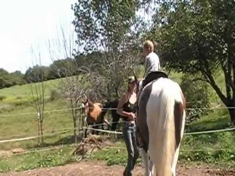 Clayton riding Prince 83012