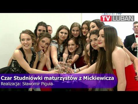"""Czar Studniówki maturzystów """"Mickiewicza"""""""