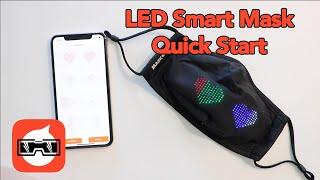 LED Smart Mask Quick Start Tutorial
