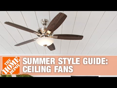 Summer Style Guide-Fans   The Home Depot