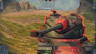 WoT Blitz M48 patton 1 vs 6 Defeat 6 kills