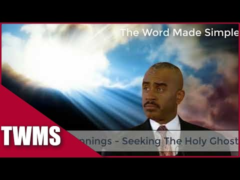 Apostle Gino Jennings - Seeking The Holy Ghost | How bad Do you Want The Holy Ghost