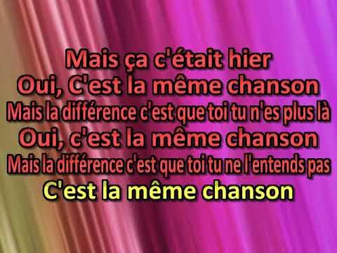Claude Francois   C'est la meme chanson