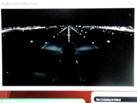 Emirates airlines airbus a380 tail camera landing view - Emirates camera ...