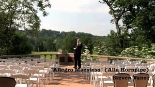 """""""Allegro Maestoso"""" (Alla Hornpipe) Water Music Violinist Steven Vance"""