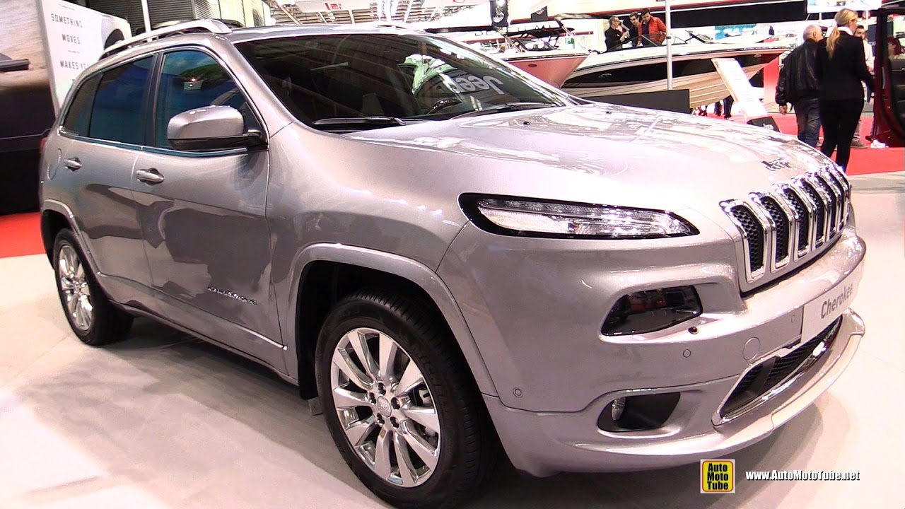 2017 jeep cherokee overland diesel exterior and interior. Black Bedroom Furniture Sets. Home Design Ideas