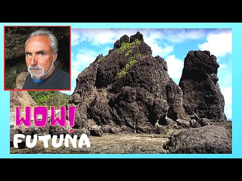 FUTUNA, the spectacular LAVA Pyramids (WALLIS and FUTUNA, Pacific Ocean)
