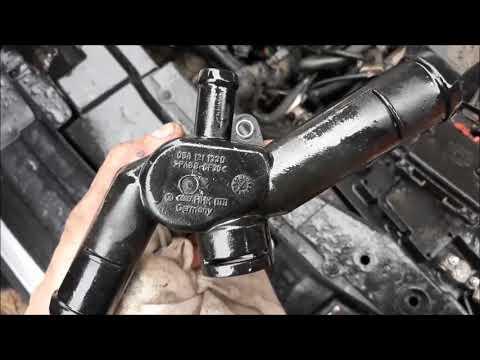 Течет антифриз Фольксваген Бора, Гольф4, Шкода. Двигатель 1,6 АКЛ.