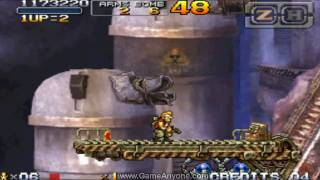 Metal Slug 7 Walkthrough - Mission 3