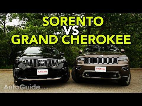 2019 Kia Sorento vs Jeep Grand Cherokee Comparison
