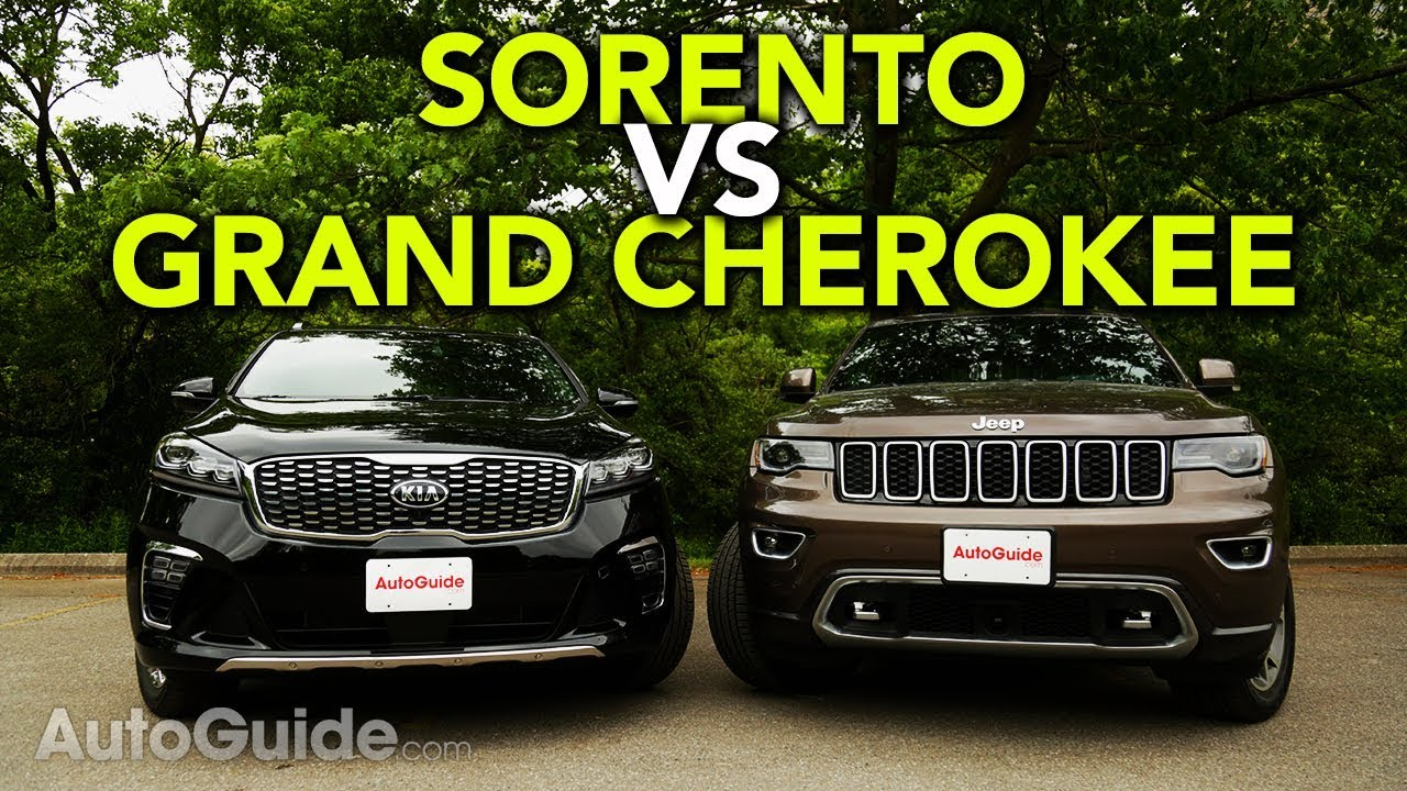 2019 Kia Sorento vs Jeep Grand Cherokee Comparison - YouTube