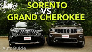 2019 Kia Sorento vs Jeep Grand Cherokee Comparison