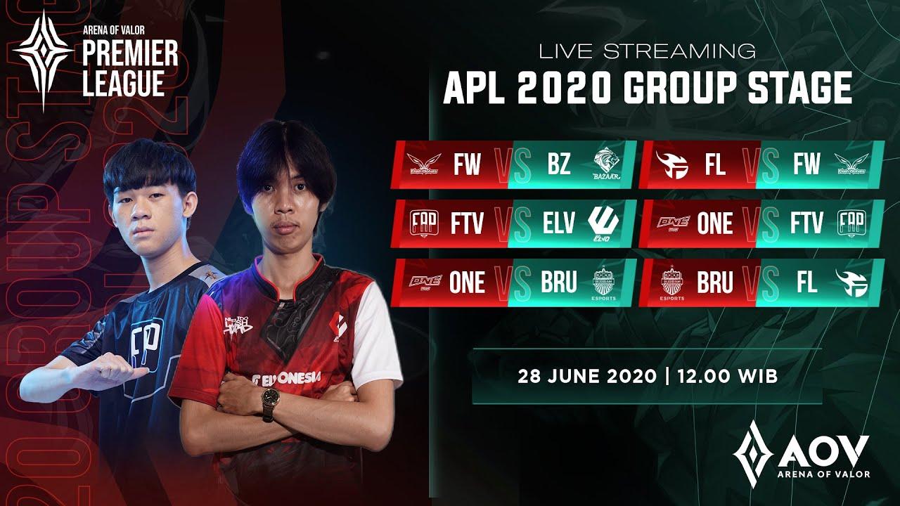 AOV Premier League (APL) 2020 Day 8 - Garena AOV (Arena of Valor)