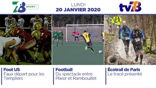 7/8 Sports. Emission du lundi 20 janvier 2020