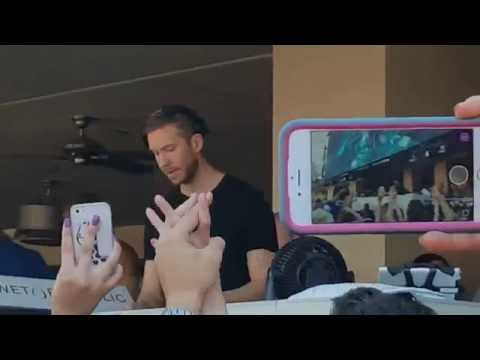 Calvin Harris Wet Republic Pool Party