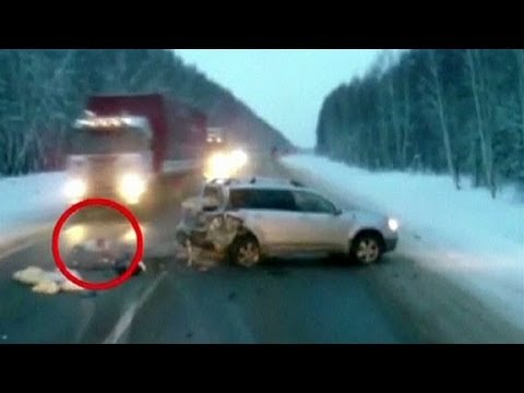 Girl On The Road Wallpaper Russian Baby Thrown From Car Youtube