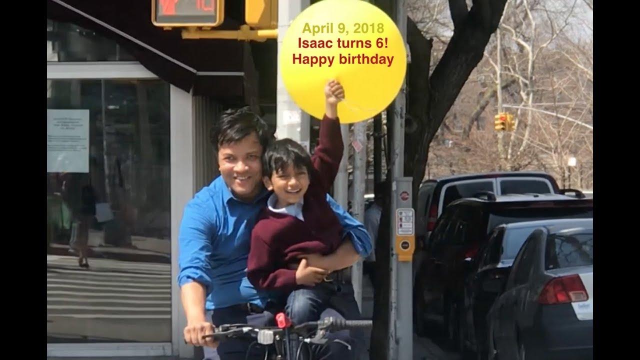 Soborno Isaac turns 6!