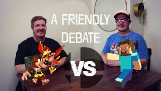 A Friendly Debate: Banjo vs. Steve