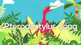 Pterodactylus dinosaur song | jjoy song - dinosaur world #20 | nursery rhymes