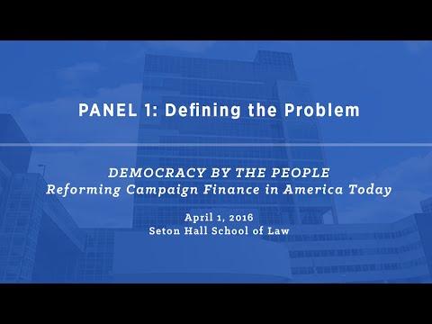 Symposium at Seton Hall School of Law (Part 1/5)
