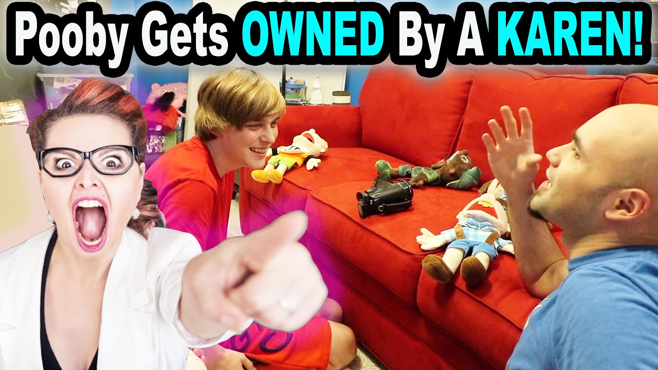 Pooby Gets OWNED By A KAREN!!! *Story Time*