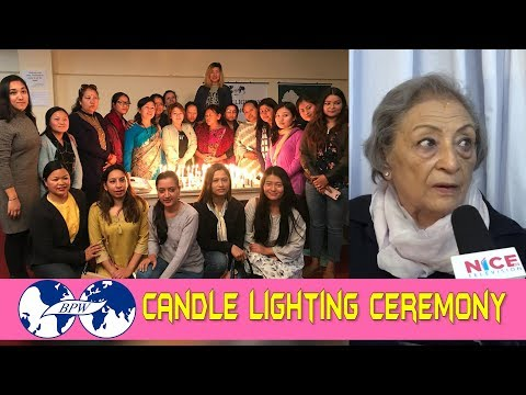 Candle lighting ceremony at BPW Nepal || Business and Professional Women Nepal || NICE TV