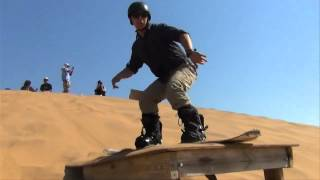 Sandboarding with GoPro