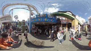 Asakusa Hanayashiki Tokyo Japan 360 degree VR movie