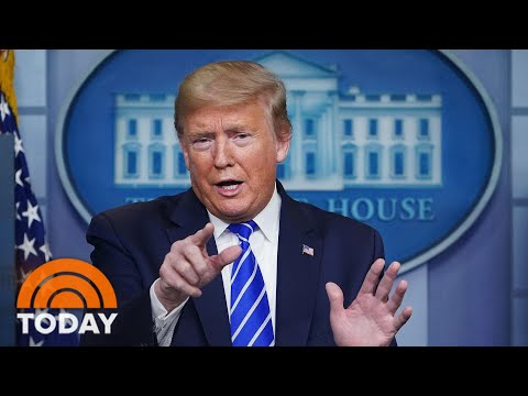 Trump Suggests Light And Disinfectant Treatments For Coronavirus | TODAY