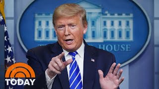 Trump Suggests Light And Disinfectant Treatments For Coronavirus   TODAY