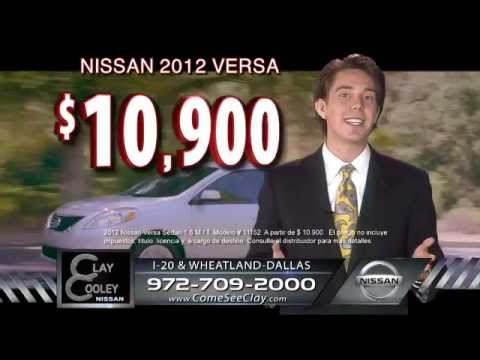 Clay Cooley Nissan March Sale Spanish Youtube