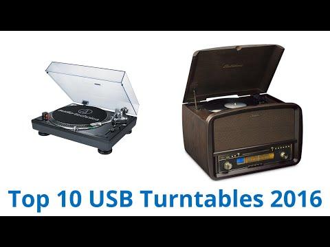 10 Best USB Turntables 2016