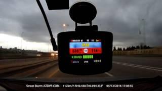 видео Sho-me COMBO N5 А12 Видеорегистратор автомобильный