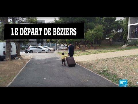 Migrants syriens à Béziers : ils partent ! #Pas2Quartier