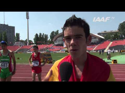 WYC Donetsk 2013 - Diego GARCIA ESP - 10000m Walk Boys - Bronze