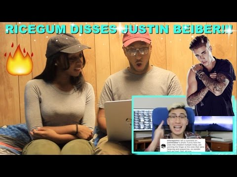 "Couple Reacts : ""Justin Bieber and Selena Gomez Drama!!! (Diss Track)"" By Ricegum Reaction!!!"