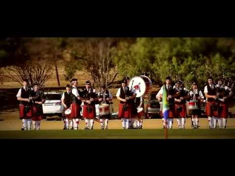 Transvaal Scottish Pipes & Drums - Journey to The 2015 World Pipe Band Championships