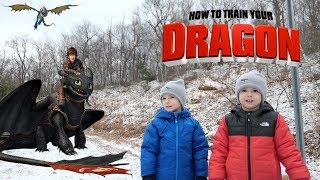 How to Train Your Dragon 3: The Hidden World Rescue Toothless Full Series. Chase and Cole Adventures