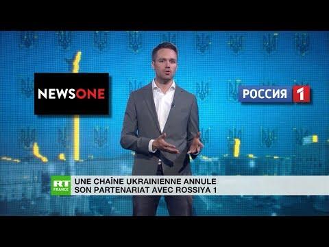 Une chaîne ukrainienne annule son partenariat avec Rossiya 1