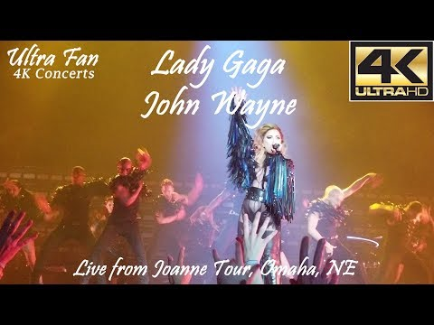 Lady Gaga - John Wayne Live from Joanne Tour Omaha, NE